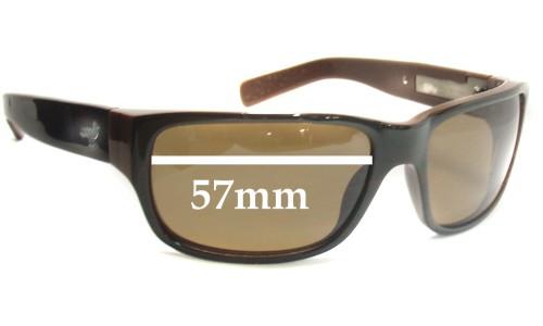 Sunglass Fix Sunglass Replacement Lenses for Modern Amusement 8's - 57mm Wide