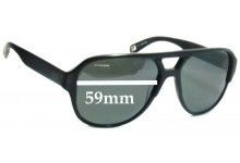 Sunglass Fix Sunglass Replacement Lenses for Mosley Tribes Cosley MT6029S - 59mm Wide