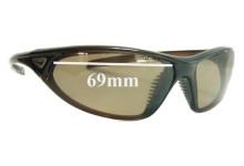 Sunglass Fix Sunglass Replacement Lenses for Nike EV0184 Cadence - 69mm Wide