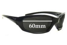Sunglass Fix Sunglass Replacement Lenses for Nike GDO Square EVO128  - 60mm Wide