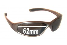 Sunglass Fix Sunglass Replacement Lenses for Nike Tarj Square EV0015 - 62mm Wide