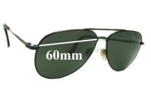Sunglass Fix Sunglass Replacement Lenses for Nikon VT5800-5 - 60mm Wide