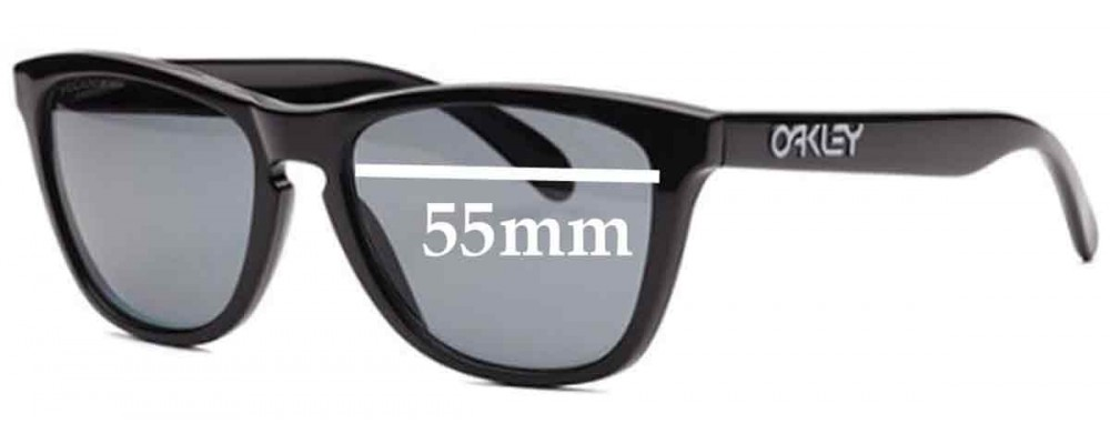 158884c2d588e Sunglass Fix Sunglass Replacement Lenses for Oakley Rare Frogskins  Collectors - 55mm Wide