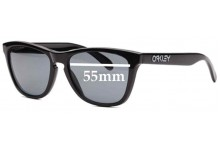 Sunglass Fix Sunglass Replacement Lenses for Oakley Rare Frogskins Collectors - 55mm Wide