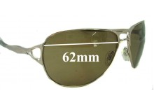 Sunglass Fix Sunglass Replacement Lenses for Oakley Hinder OO4043 - 62mm Wide