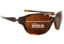 Sunglass Fix Sunglass Replacement Lenses for Oakley Abandon - 60mm Wide