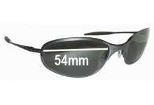 Sunglass Fix Sunglass Replacement Lenses for Oakley A-Wire Thick - 54mm Wide
