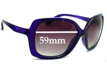 Sunglass Fix Sunglass Replacement Lenses for Oakley Beckon OO9125 - 59mm Wide