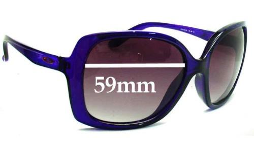 Sunglass Fix Sunglass Replacement Lenses for Oakley Beckon - 59mm wide