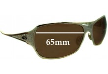 Sunglass Fix Sunglass Replacement Lenses for Oakley Behave OO4003 - 65mm Wide