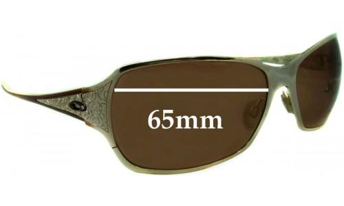 Sunglass Fix Sunglass Replacement Lenses for Oakley Behave - 65mm wide
