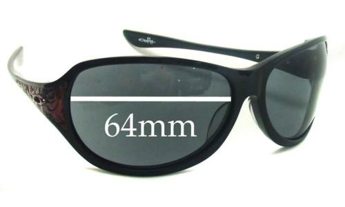 Sunglass Fix Sunglass Replacement Lenses for Oakley Belong - 64mm Wide