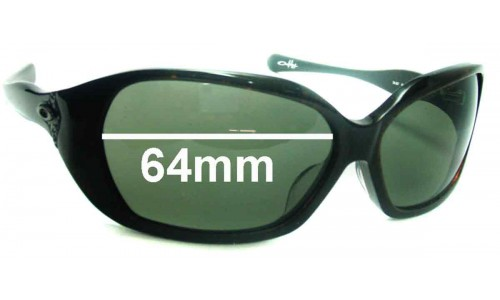Sunglass Fix Sunglass Replacement Lenses for Oakley Betray - 64mm wide