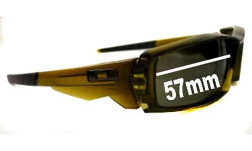 Sunglass Fix Sunglass Replacement Lenses for Oakley Canteen - 57mm Wide