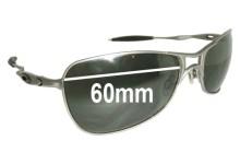 Sunglass Fix Sunglass Replacement Lenses for Oakley Crosshair 1.0 - 60mm Wide
