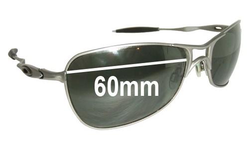 Sunglass Fix Sunglass Replacement Lenses for Oakley Crosshair - 60mm wide