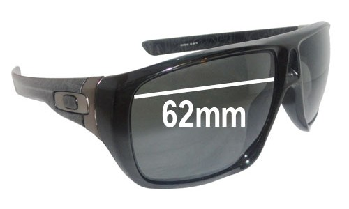 Sunglass Fix Sunglass Replacement Lenses for Oakley Dispatch OO9090 - 62mm Wide