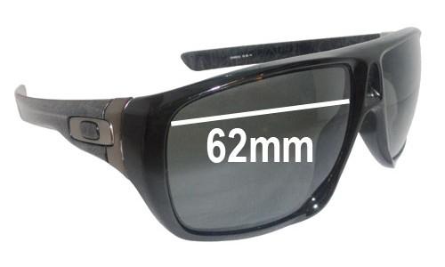 Sunglass Fix Sunglass Replacement Lenses for Oakley Dispatch - 62mm wide