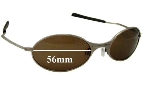 Sunglass Fix Sunglass Replacement Lenses for Oakley E Wire Generation 1 - 56mm wide