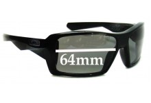 Sunglass Fix Sunglass Replacement Lenses for Oakley Eye Patch - 64mm Wide