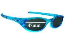 Sunglass Fix Sunglass Replacement Lenses for Oakley Four S - 47mm Wide
