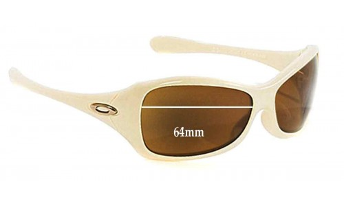 Sunglass Fix Sunglass Replacement Lenses for Oakley Grapevine - 64mm Wide
