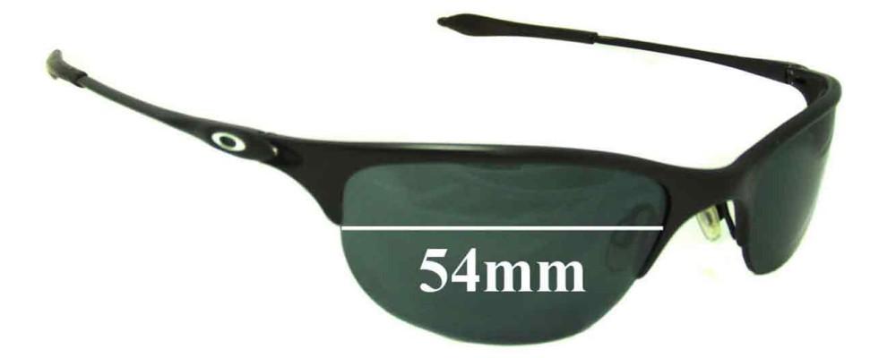 b1eb11c2a1e4c Oakley Half Wire Replacement Lenses 54mm by The Sunglass Fix® Australia