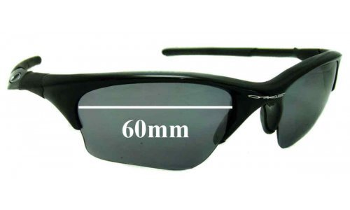 Sunglass Fix Sunglass Replacement Lenses for Oakley Half Jacket XLJ - 60mm Wide