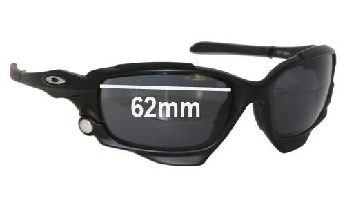 Sunglass Fix Sunglass Replacement Lenses for Oakley Jawbone - 62mm Wide