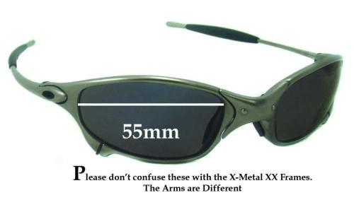 Sunglass Fix Sunglass Replacement Lenses for Oakley X Metal Juliet - 55mm wide
