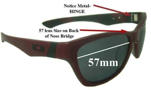 Sunglass Fix Sunglass Replacement Lenses for Oakley Jupiter LX - 57mm Wide