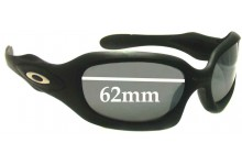 Sunglass Fix Sunglass Replacement Lenses for Oakley Monster Doggle - 62mm Wide