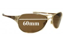 Sunglass Fix Sunglass Replacement Lenses for Oakley Restless OO4038 - 60mm Wide