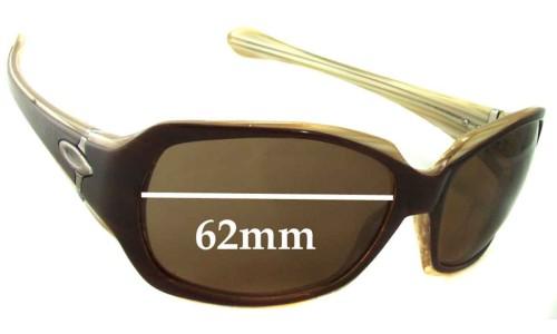 Sunglass Fix Sunglass Replacement Lenses for Oakley Script - 62mm wide