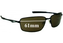 Sunglass Fix Sunglass Replacement Lenses for Oakley Splinter OO4037 - 61mm Wide