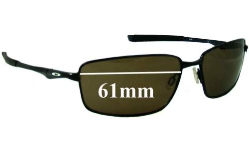 Sunglass Fix Sunglass Replacement Lenses for Oakley Splinter OO4037 - 61mm Wide