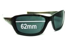 Sunglass Fix Sunglass Replacement Lenses for Oakley Tangent - 61-62mm Wide