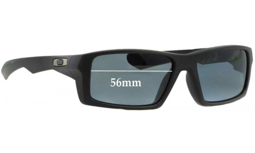 Sunglass Fix Sunglass Replacement Lenses for Oakley Twitch - 56mm wide