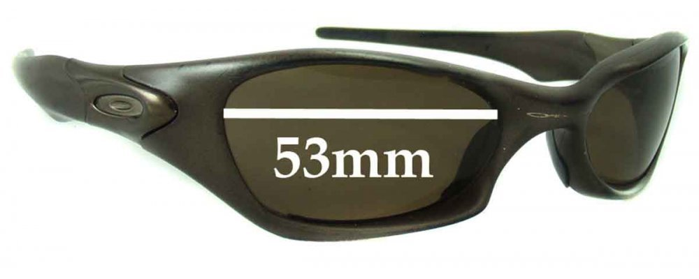 9ab73a10907 Oakley Valve Sunglass Replacement Lenses - 53mm wide