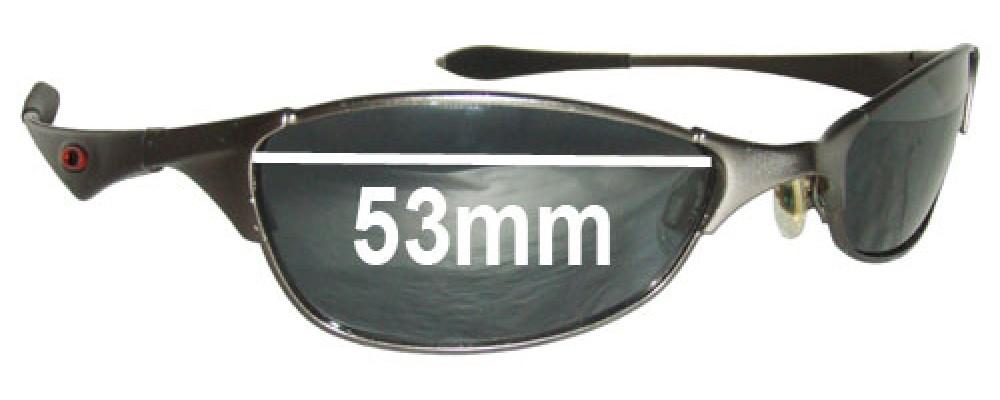 replacement lenses oakley sunglasses 2kte  Oakley Wiretap Sunglass Replacement Lenses