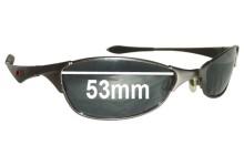 a0c3eecd97 Oakley Wiretap Sunglass Replacement Lenses - 53mm wide