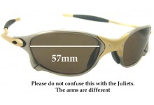 b768be6df7 Oakley X METAL XX Sunglass Replacement Lenses - 57mm wide