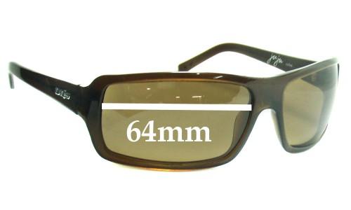 Sunglass Fix Sunglass Replacement Lenses for Otis Ju Ju - 64mm wide