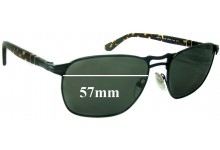 Sunglass Fix Sunglass Replacement Lenses for Persol 2380-S - 57mm Wide