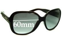 Sunglass Fix Sunglass Replacement Lenses for Prada SPR04M - 60mm Wide