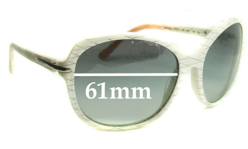 Sunglass Fix Sunglass Replacement Lenses for Prada SPR04N - 61mm wide lens