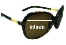 Sunglass Fix Sunglass Replacement Lenses for Prada SPR25L - 60mm Wide