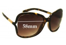 Sunglass Fix Sunglass Replacement Lenses for Prada SPR28L - 58mm Wide