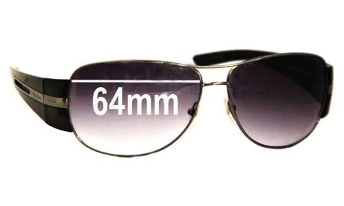 Sunglass Fix Sunglass Replacement Lenses for Prada SPR69H - 64mm lens