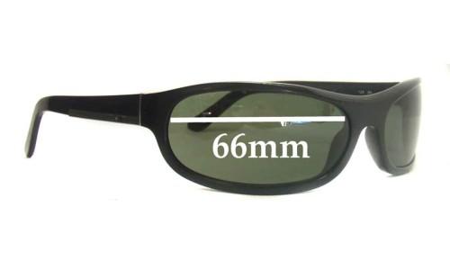 Sunglass Fix Sunglass Replacement Lenses for Prada SPR03I - 66mm Wide